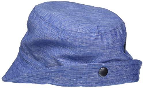 Döll Baby-Jungen Hut Leinen Sonnenhut, Blau (Total Eclipse|Blue 3000), 47
