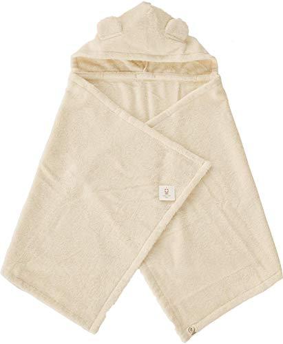 今治タオル imabari towel 出産祝い 日本製 ベビーバスローブ バスポンチョ ギフトセット (ナチュラル)