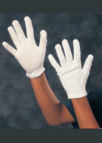 Gants de coton blanc taille pour enfants