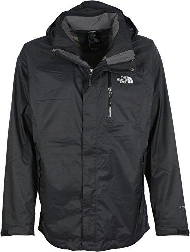 The North Face Zenith Triclimate - Chaqueta para hombre, color negro, talla XL