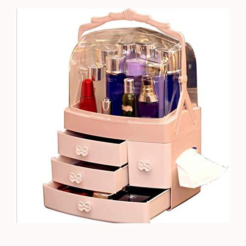YFQHDD Storage Box,Multifunctional Simple Waterproof and Dustproof Design Cosmetic Storage Rack for Bathroom Vanity and Countertop