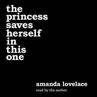 the princess saves herself in this one cover art