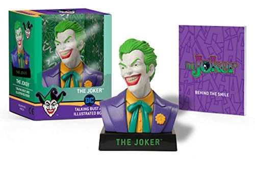 The Joker Talking Bust and Illustrated Book (Rp Minis)