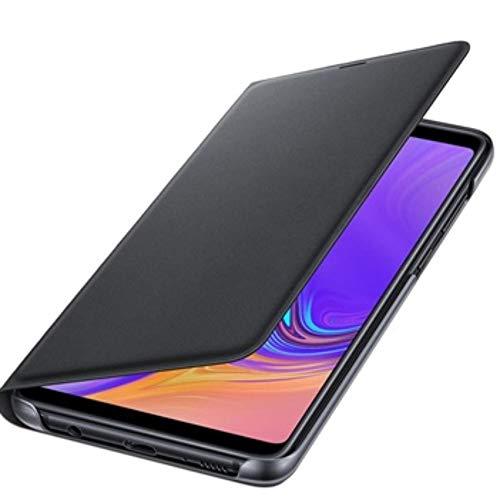 Samsung Flip Wallet Black Galaxy A9 2018, EF-WA920PBEGWW, Schwarz, Samsung Galaxy A9 (2018)