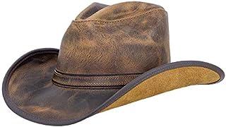 قبعة راعي البقر الجلدية للرجال والنساء من American Hat Makers - مصنوعة يدويًا