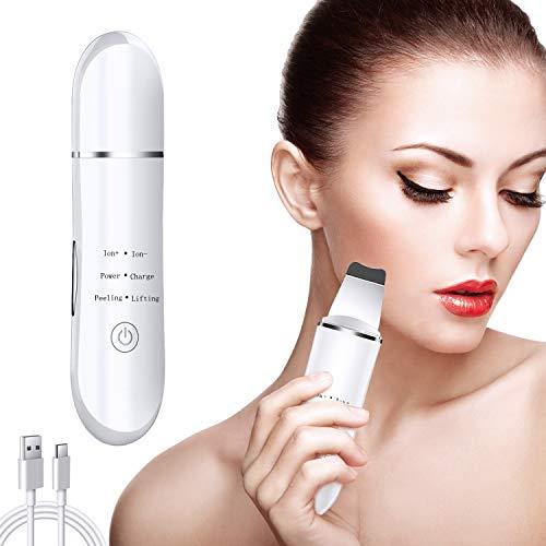 Kriogor Skin Scrubber, Professionale Ultrasonic Pulizia del Viso Spazzola Pulizia Viso Peeling Pore Cleaner Rimozione di Comedone Detergente per La Pelle di Loni