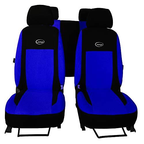 POK-TER Sitzbezüge Universal Schonbezüge kompatibel mit Mercedes A KLASSE W168