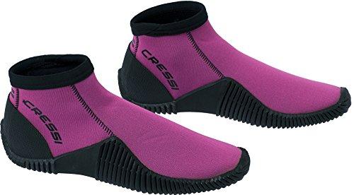 Cressi Low Boot Neopren Tauchschuhe, Pink, M (EU 40/41)