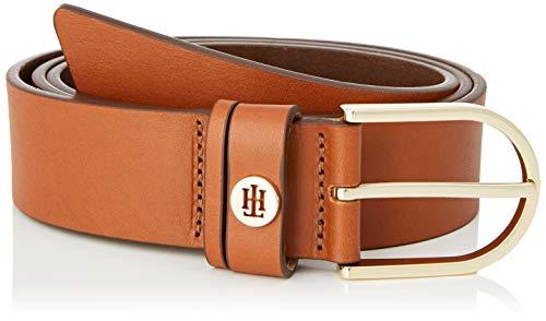Tommy Hilfiger Damen Classic Belt 3.5 Gürtel, Cognac, 90