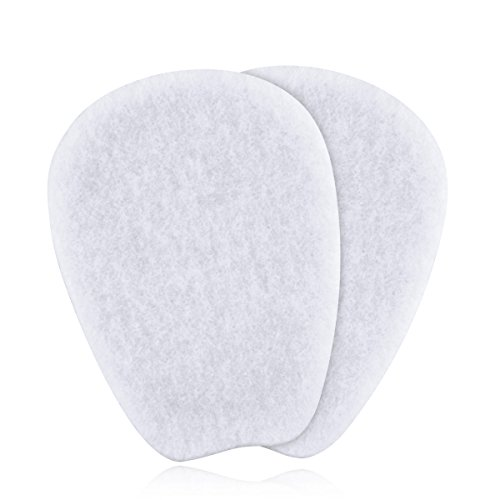 3 Pairs of Felt Tongue Pads for Shoes  Size Large