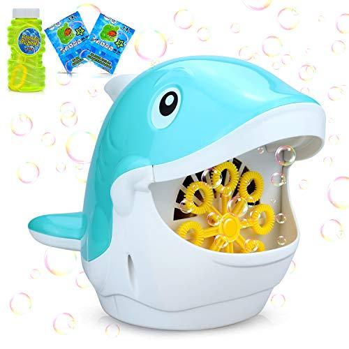 aovowog Máquina de Burbujas para Niños,Pompas de Jabón Pompero Automático Soplador para...