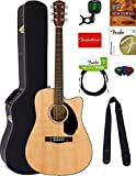 Fender CD-60SCE Mahogany Acoustic-Electric Guitar