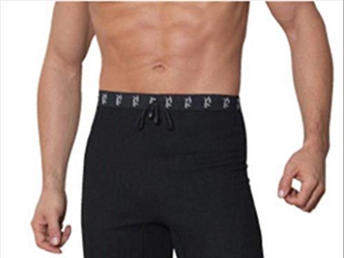 Turbo Hot Pants Hose, Neopren, Unisex schwarz, Größe 92cm