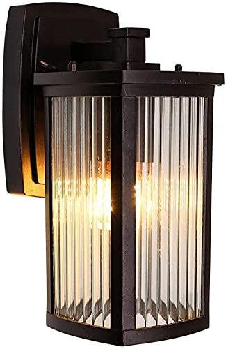 Praee Vintage elegante rústico DIRIGIÓ Linterna de pared al aire libre 1-LIGHT EXTERIOR ARCECE LIGHTE LIGHTURY LIGHTS AUMPARETE APROXIMADA LUCES MONTADA MONTAJE APONTES Iluminación Aisle Cocina Pasill