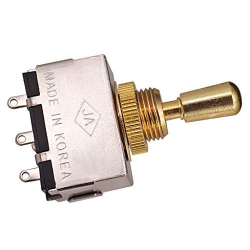homyl cerrado 3way Selector Pickup Selector con pomo oro para Les Paul/Epiphone...
