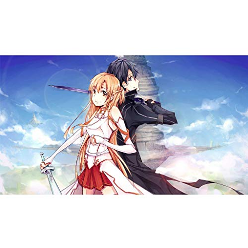 WMLWML Puzzle, Sword Art Online 300/500/1000 Pieza for Juguetes for niños Regalo de cumpleaños Pegatinas Rompecabezas PMM One of Mankind Favorite Games (Color : A, Size : 500PC)