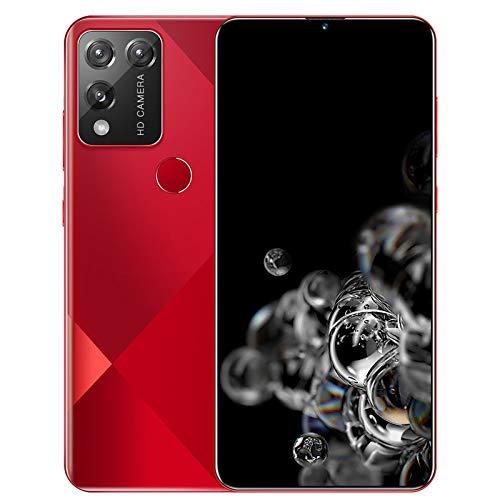 Teléfono Móvil con Pantalla Grande Smartphone S30, Cámara Frontal de 2 MP + 5 Millones de Cámaras Traseras HD, con Pantalla de Excavación de 6.7 '', Cubierta Trasera con Revestimiento de Vidrio 3D