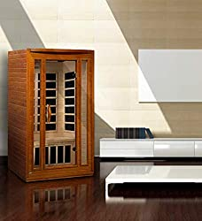 Maxxus San Marino 2-Person Low EMF (Under 8MG) FAR Infrared Sauna, Curb Side Delivery