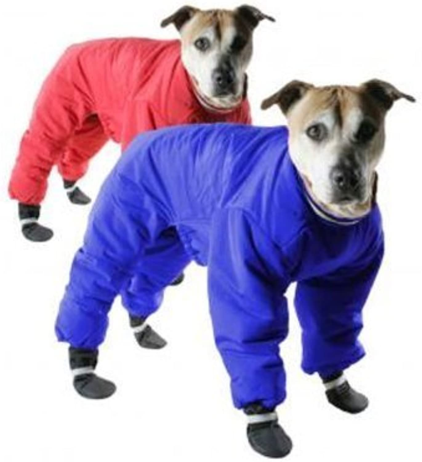 Muttluks 4Leged Nylon Reversable Dog Snow Suit, Size 18, Red /Blue di A.C. Kerman Pet Products