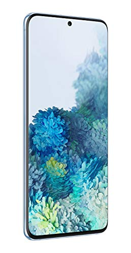 Samsung Galaxy S20 5G Factory Unlocked New Android Cell Phone US Version | 128GB of Storage | Fingerprint ID and Facial Recognition | Long-Lasting Battery | US Warranty |Cloud Blue