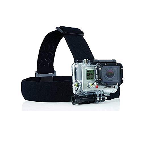 Navitech Helmet/Headband/Head Strap Mount Compatible with The Bekhic V90 4K HD WiFi Sports Action Camera