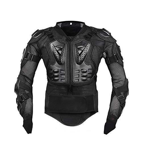 Motocicleta Chaqueta Protectora, Profesional Hombre Armadura De Cuerpo Completo Protector De Protección Equipo Motocross ATV Racing Spine Back Armadura De Pecho