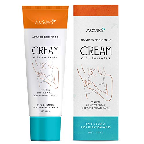 AsaVea Dark Spot Cream Natural Underarm Cream, Instant Result, Crotch & Nipple Dark Spot Corrector