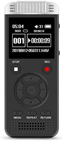 Digital Voice Recorder 32G Voice Activated Recorder for Lectures Meetings Class 1536kbps Stereo product image