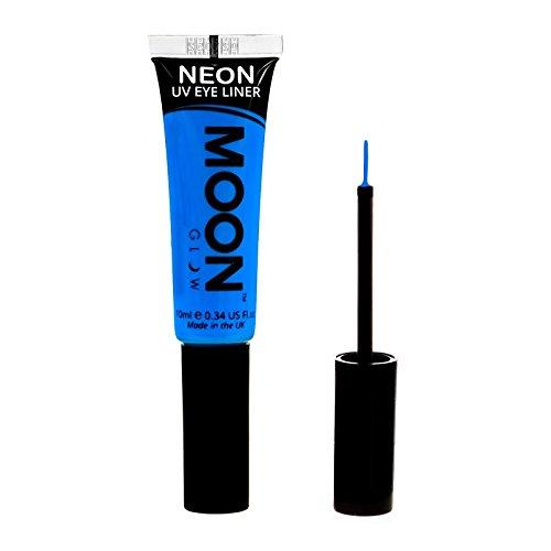 Moon Glow - Neon-UV-Lidstrich 10ml Blau –ein spektakulär glühender Effekt bei UV- und Schwarzlicht!
