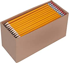 150 wood case #2 HB pencils made from high-quality wood come presharpened Strong medium-soft lead produces long-lasting, smooth, readable strokes Rounded hexagonal shape with satin-smooth finish for a secure, comfortable grip Soft, smudge-free, latex...