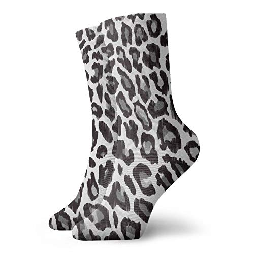 Leopard Animal Print Classics Compression Socks Sport Athletic 11.8Inch(30Cm) Long Crew Socks For Men Women