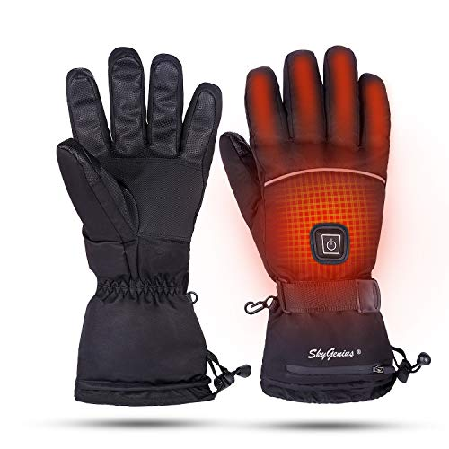 Snow Deer SkyGenius Best Heated Gloves for Men and Women for Skiing