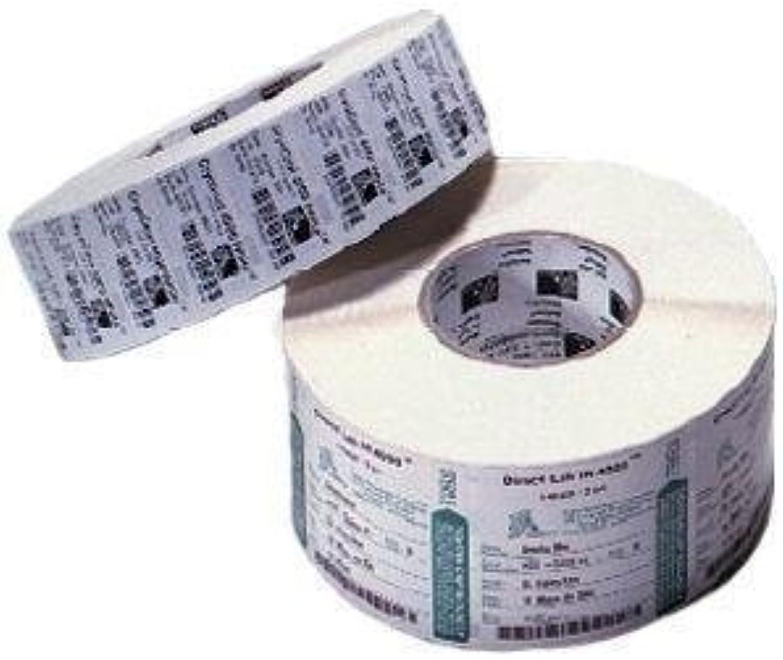Zebra Premium Hochglanz Polyesteretiketten, core, 70 x 32 mm, 2100 Etiketten, C-25 mm, Box Of 12, weiß B003DKF04A      New Style