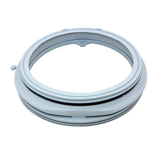 Reliapart kompatibel Original WMD25145M, WM5100S Waschmaschine Dichtung, Ersatz-Gummi-Türdichtung grau / schwarzer Gummi