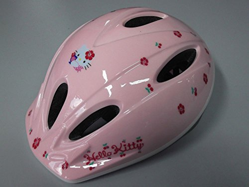 CASCO BICI BIMBA HELMET KIDS BIKE IRONWAY ORIGINALE HELLO KITTY TG.M