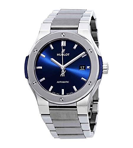 Hublot Classic Fusion reloj automático con esfera azul para hombre 548.NX.7170.NX