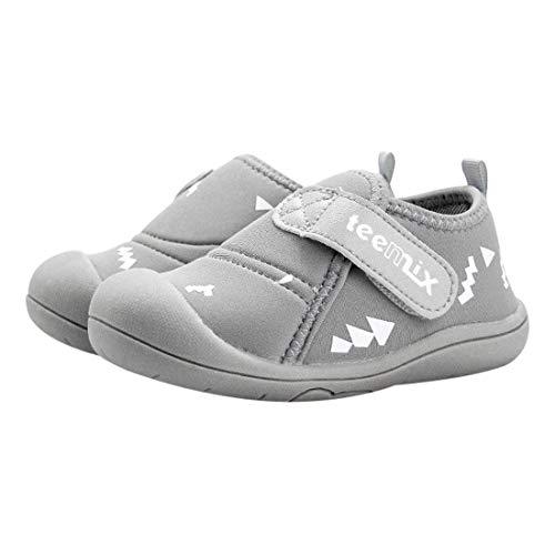 DEBAIJIA Bebé Primeros Pasos Zapatos 1-4 años Niños Zapatos Niños Niñas Suave Suela Antideslizante Algodón Lona Malla Transpirable Ligero TPR Material Slip-on Zapatillas Deportivas Outdoor