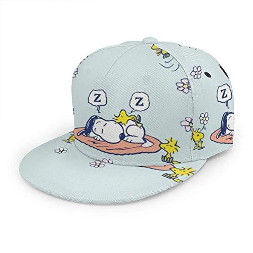 S-n-ooPy Gorra de béisbol de Dibujos Animados de Anime Hombres Mujeres Gorra Deportiva Ajustable Snapback Sombrero Profesional