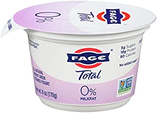 FAGE TOTAL, 0% Plain Greek Yogurt, 6 oz