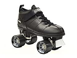 cheap Chicago Brett Black Speed Skating-Chicago Speed Skating-Black Quad