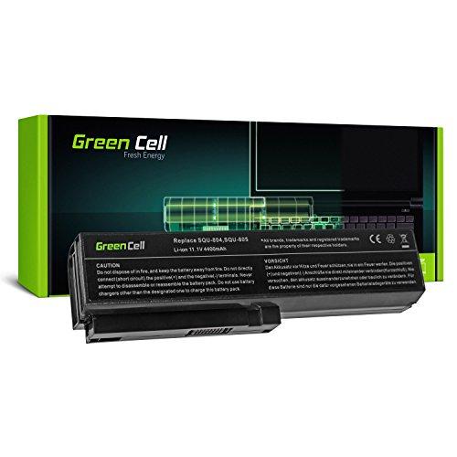 Green Cell® Standard Serie SQU-804 Batería para LG XNote R410 R460 R470 R480 R500 R510 R560 R570 R580 R590 Wortmann Terra Mobile 1561 Pro Ordenador (6 Celdas 4400mAh 11.1V Negro)