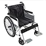 Transport Wheelchair - Thickened Steel Tube Elderly Wheelchair Foldable with Toilet Lightweight Elderly Walker Travel Cart Easy to Operate