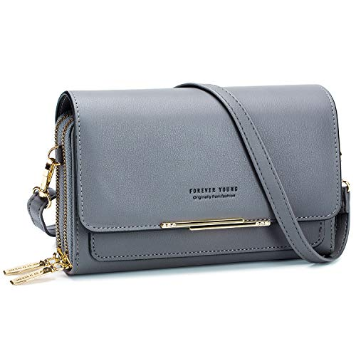 Roulens Small Crossbody Shoulder Bag for Women,Cellphone Bags Card Holder Wallet Purse and Handbags