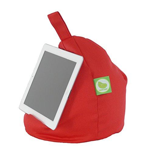 iPad, eReader & Book Mini Sitzsack von Bean Lazy passt für alle Tablets und eReaders - Rot