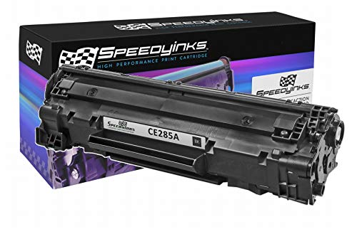 Speedy Inks Compatible Toner Cartridge Replacement for HP 85A CE285A (Black)