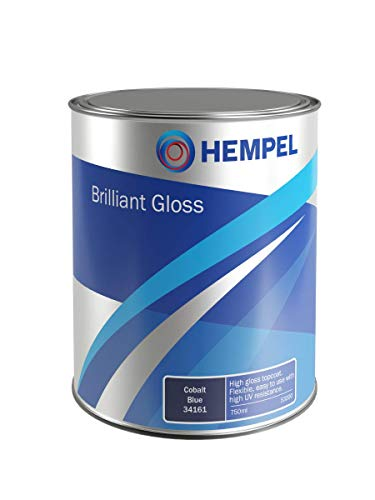 Hempel Brilliant Gloss | 1-K Lack Farbe | 750 mL, Farbe:Britannia Blau