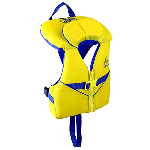 Stohlquist Waterware Infant PFD 8 - 30 lbs,, Yellow/Blue