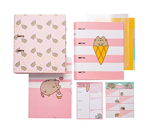 ERIK - Set de Papelería Pusheen Rose Collection (5 productos)