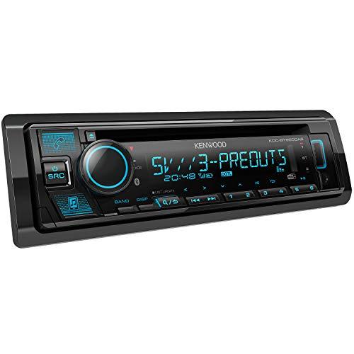 Kenwood KDC-BT950DAB CD-Autoradio mit DAB+ & Bluetooth Freisprecheinrichtung (USB, AUX-In, Hochleistungstuner, Spotify Control, Soundprozessor, 4x50 W, VAR. Beleuchtung, DAB+ Antenne)