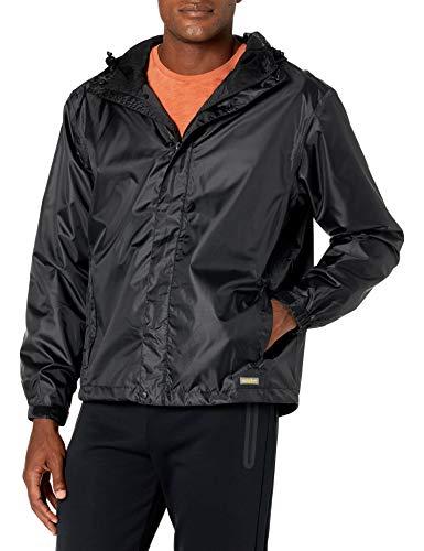 Solstice Apparel Men's Taped Rain Jacket, Black, Small
